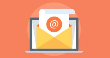 taxa de abertura de e-mails